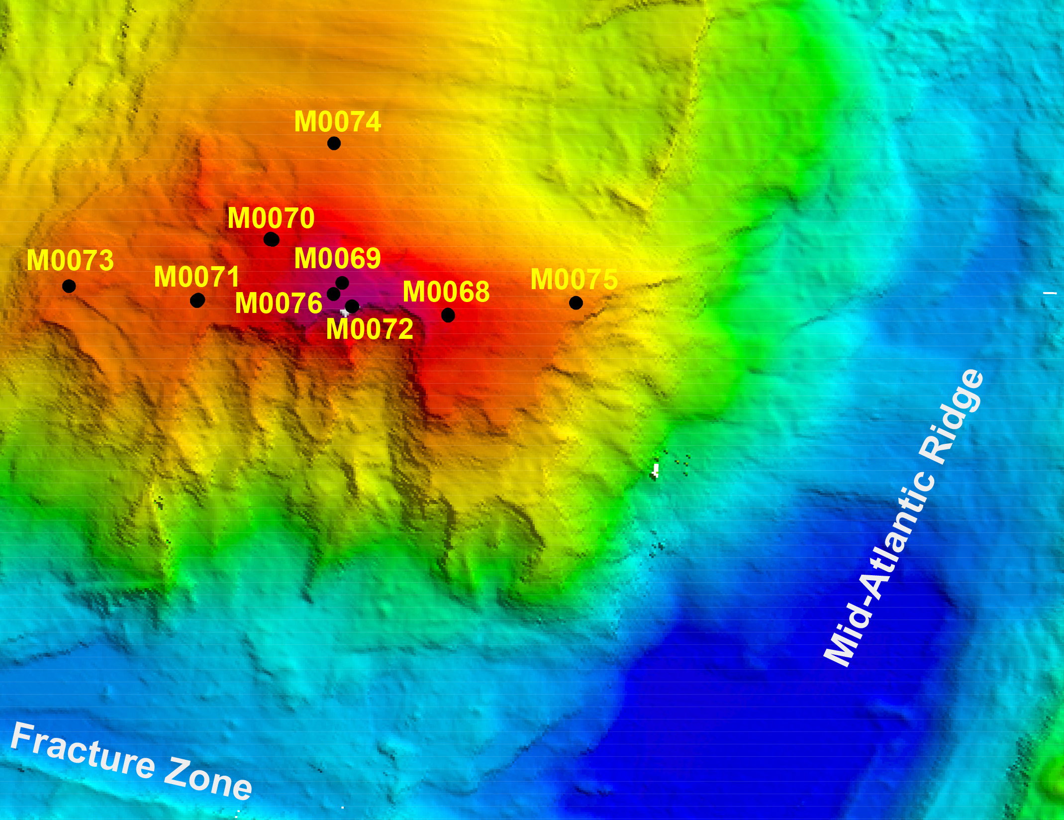 Atlantis Massif Drillsites