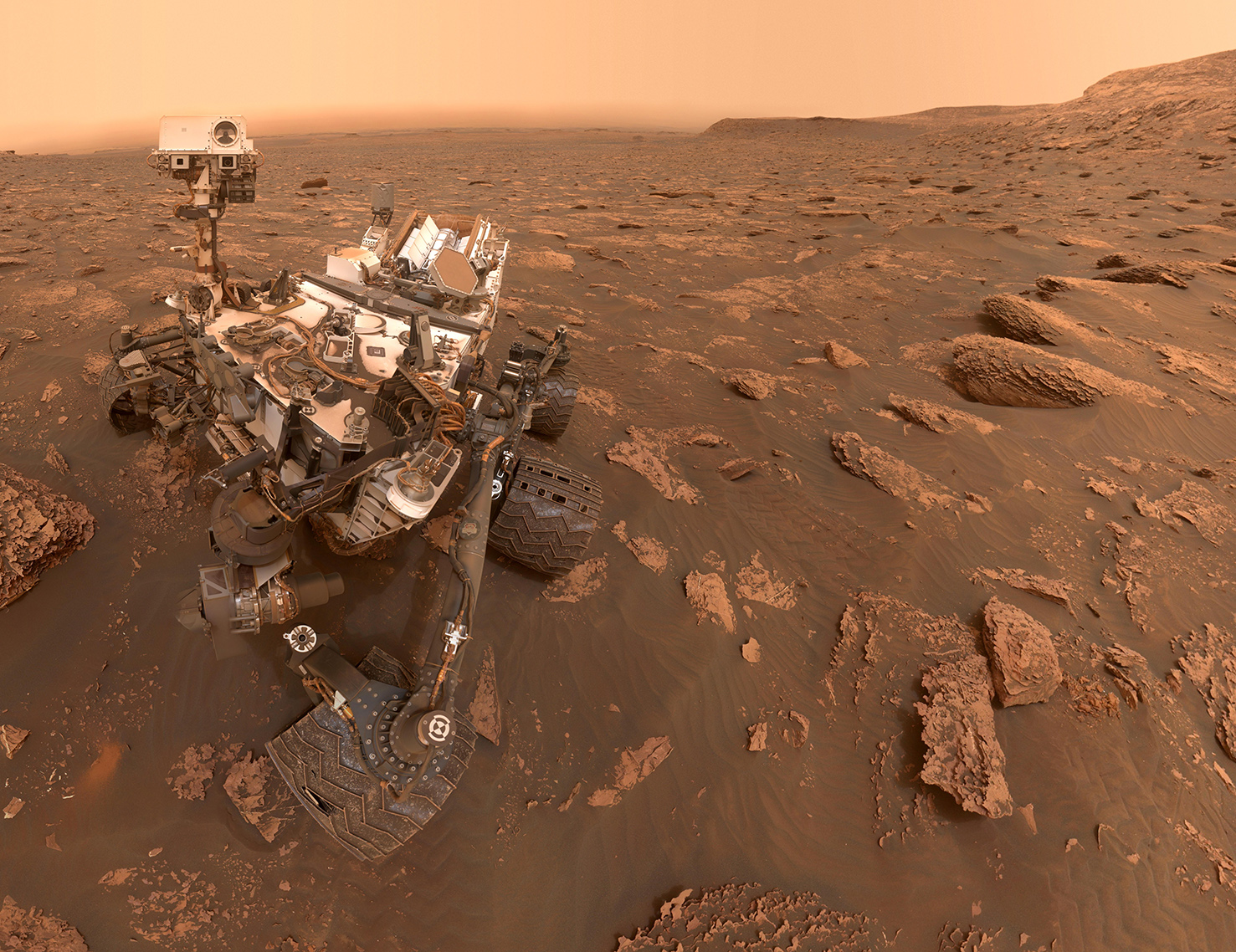 "Martian Organic Molecules Came From Natural ""Batteries"""